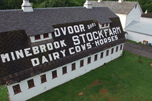 Dvoor Farm barn roof, Hunterdon Land Trust, Flemington NJ